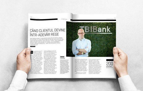 When the Customer Truly Becomes King: Petr Baron, CEO of TBIF (TBI Bank), talks to Business Magazine